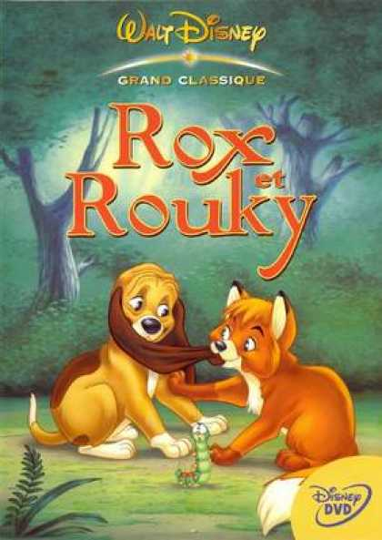 French DVDs - The Fox And The Hound