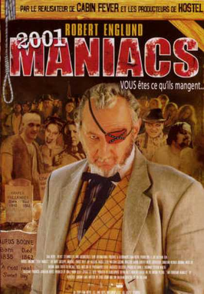 French DVDs - 2001 Maniacs