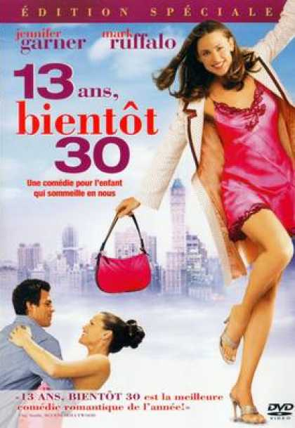 French DVDs - 13 Ans Bientot 30