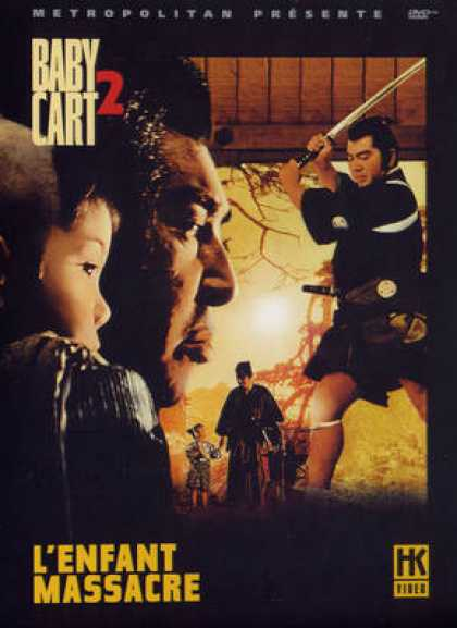 French DVDs - Baby Cart 2 - L Enfant Massacre