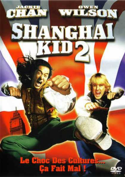 French DVDs - Shanghai Knights