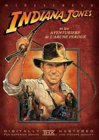 French DVDs - Indiana Jones And The Raiders Of Lost Ark