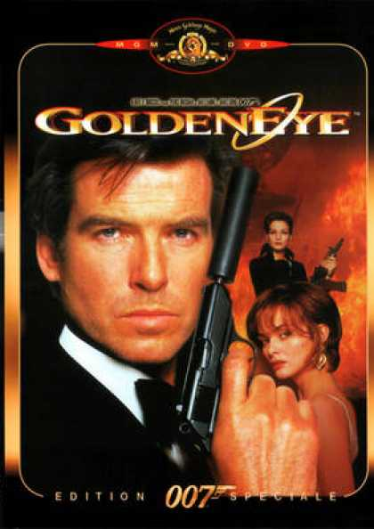 French DVDs - 007 GoldenEye