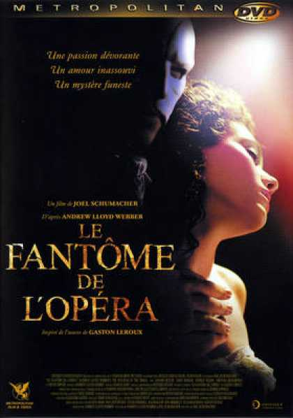 French DVDs - The Phantom Of The Opera