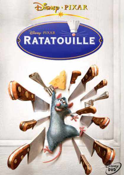 French DVDs - Ratatouille