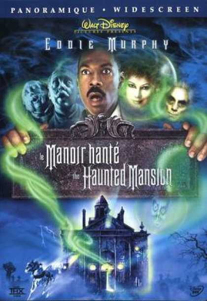 French DVDs - The Haunted Mansion