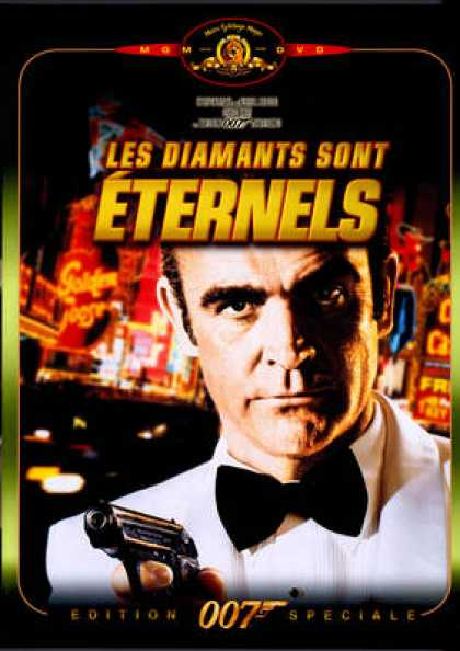 French DVDs - 007 James Bond - Diamonds Are Forever