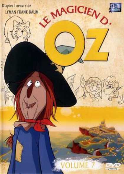 French DVDs - The Wizard Of Oz Cartoon Volume 7