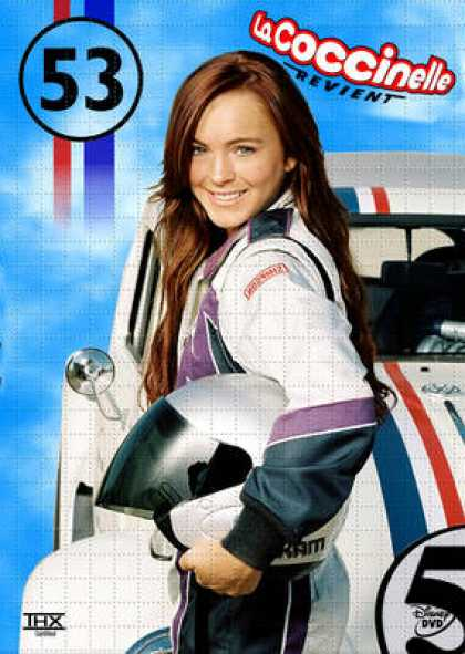French DVDs - Herbie Fully Loaded