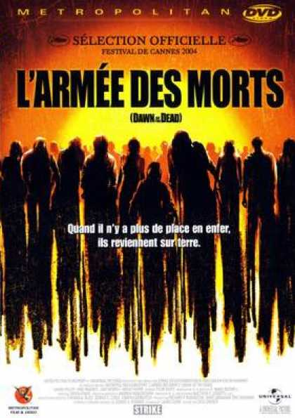 French DVDs - Dawn Of The Dead