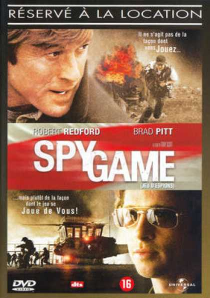 French DVDs - Spy Game