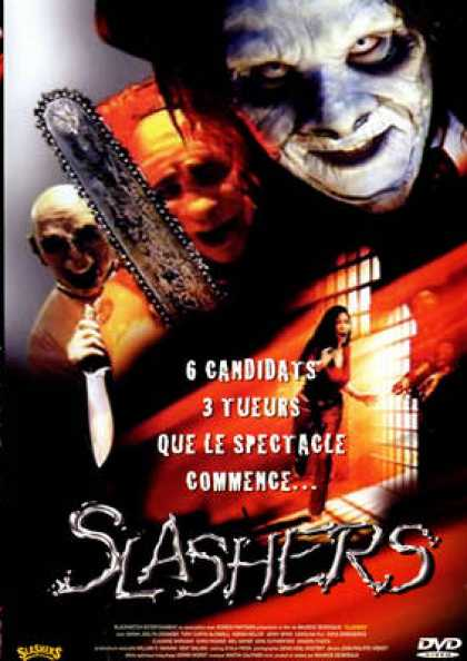 French DVDs - Slashers