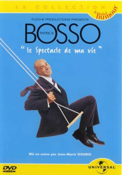 French DVDs - Bosso Le Spectacle De Ma Vie