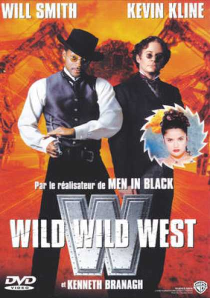 French DVDs - Wild Wild West