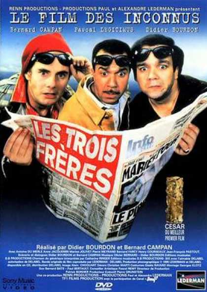French DVDs - Three Brothers