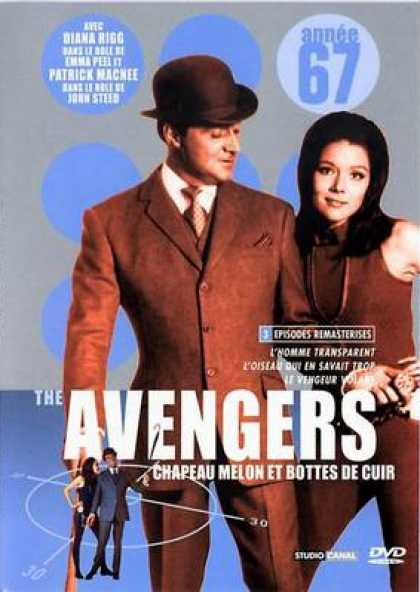 French DVDs - The Avengers 1967 Vol 2