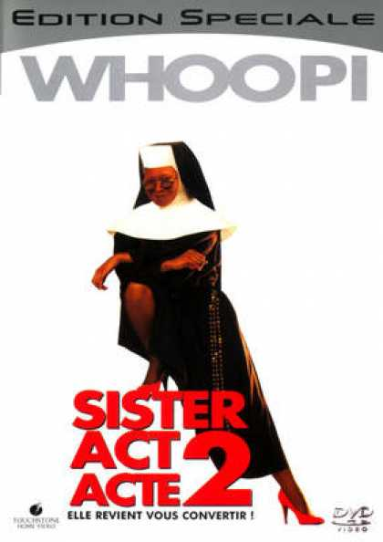 French DVDs - Sister Act 2