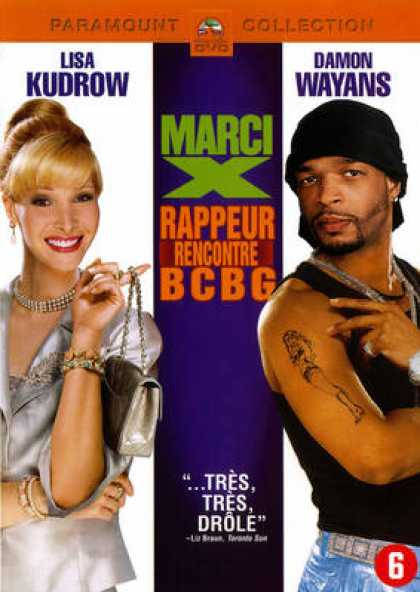 French DVDs - Marci X Rappeur Rencontre