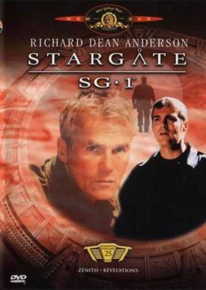 French DVDs - Stargate Sg 1 Vol 25