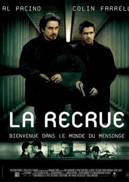 French DVDs - The Recruit French Canadian