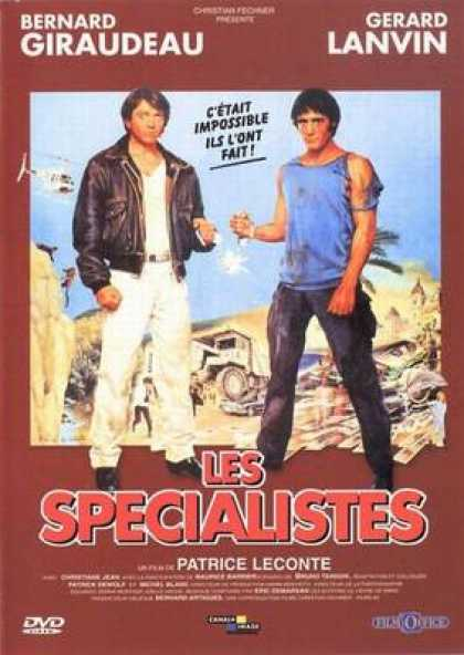 French DVDs - The Specialists