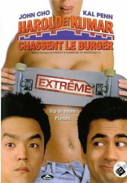 French DVDs - Harold And Kumar Go To White Castle French Can