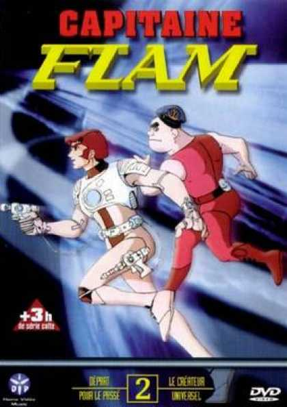 French DVDs - Captain Flame Volume 2
