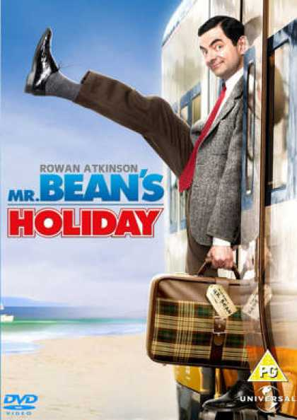 French DVDs - Mr Beans Holiday