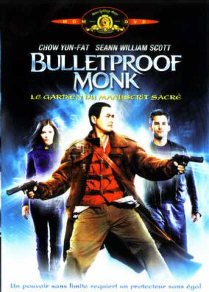 French DVDs - Bulletproof Monk