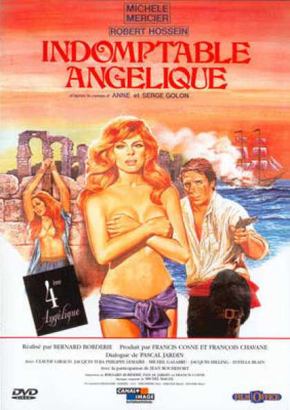 French DVDs - Indomptable Angelique