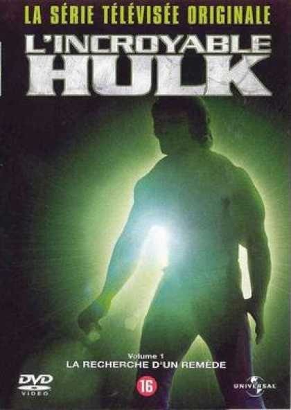 French DVDs - Hulk The Series Vol 1
