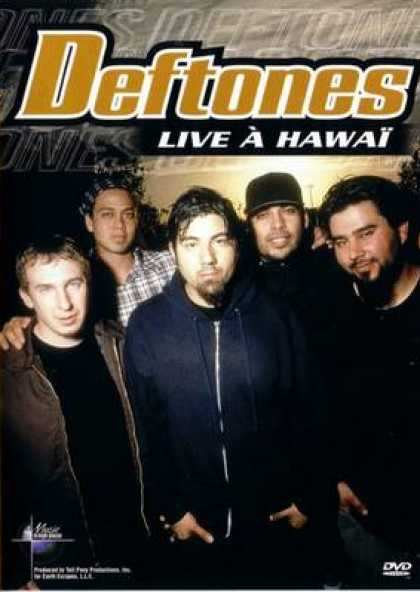 French DVDs - The Deftones Live In Hawaii