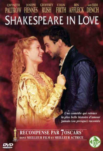 French DVDs - Shakespeare In Love