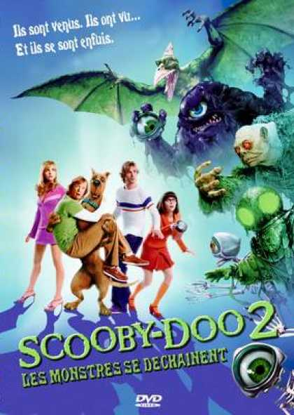 French DVDs - Scooby Doo 2