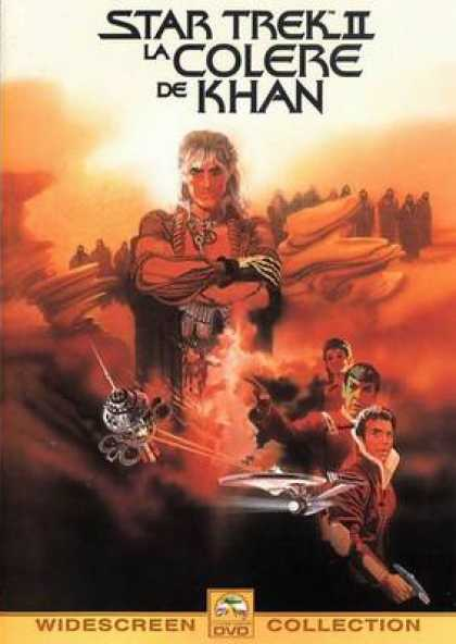 French DVDs - Star Trek 2 The Wraith Of Khan