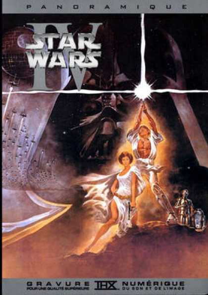 French DVDs - Star Wars A New Hope