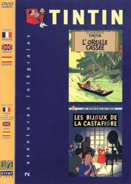 French DVDs - The Adventures Of Tin Tin Vol 9