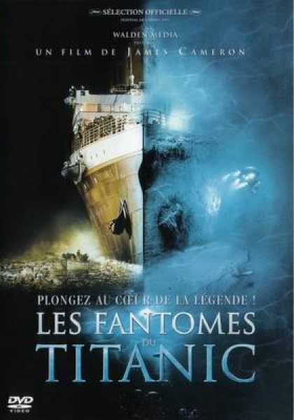 French DVDs - Les Fantomes Du Titanic