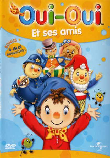 French DVDs - Oui Oui Et Ses Amis