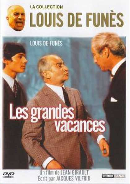 French DVDs - The Big Vacations