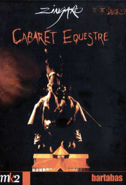 French DVDs - Zingaro - Cabaret Equestre