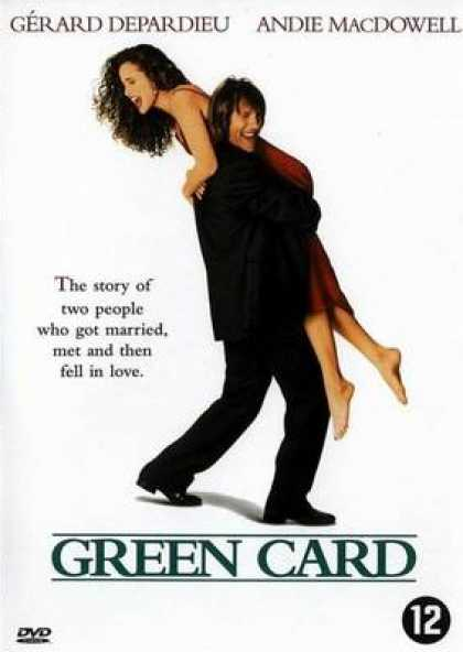 French DVDs - Green Card