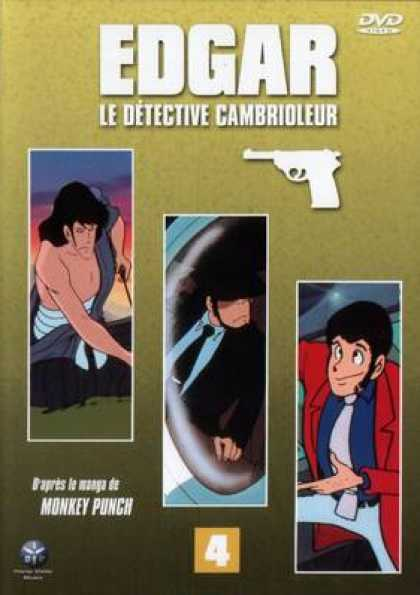 French DVDs - Edgar The Detective Vol 4