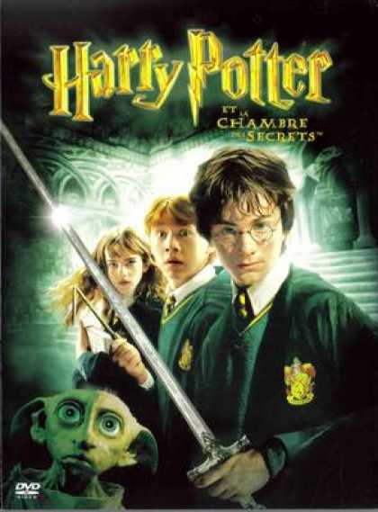 French DVDs - Harry Potter Et La Chambre Des Secrets