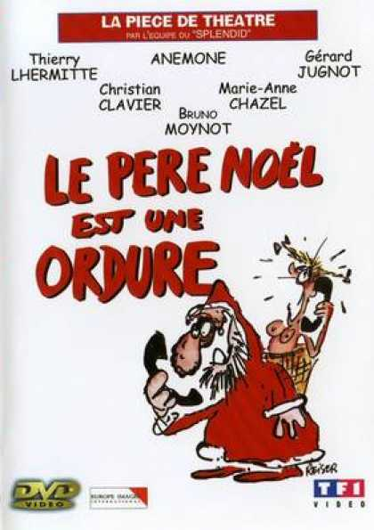 French DVDs - Santa Claus Is A Filth The Play