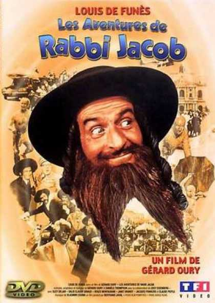 French DVDs - The Mad Adventures Of Rabbi Jacob