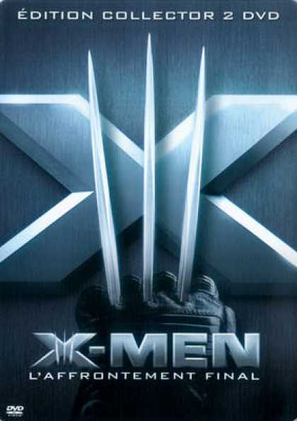 French DVDs - X-Men 3