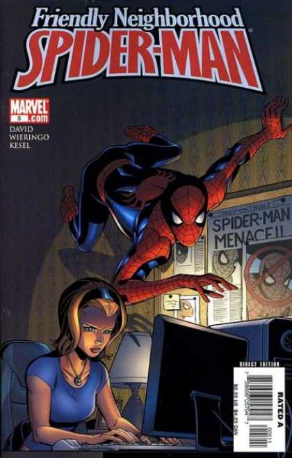 Friendly Neighborhood Spider-Man 5 - Pc - Lady - Wall Crawling - Spidy - Room - Mike Wieringo