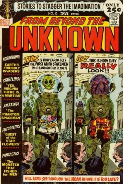 From Beyond the Unknown 13 - Aliens - Astonishing - Startling - Amazing - Futuristic - Joe Kubert