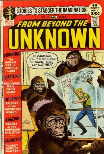 From Beyond the Unknown 14 - Apes - Joe Kubert
